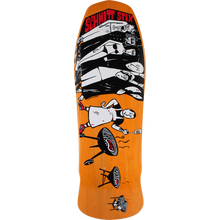 SCHMITT STIX - Stix Lopes Bbq Deck-10.12x30.6 Orange - Skateboard Deck