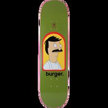 Habitat - Bob's Burgers Burger Deck-8.0 Green - Skateboard Deck