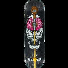 Send Help - Help Harper Brain Drain Deck-8.5 Asst.stain - Skateboard Deck
