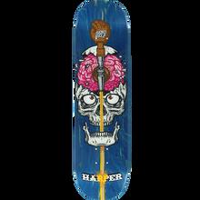 Send Help - Help Harper Brain Drain Deck-8.0 Asst.stain - Skateboard Deck
