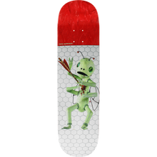 Alien Workshop - Spears Bugout Deck-8.0 Wht/red - Skateboard Deck