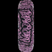 BACON - Collage Font Deck-8.25 Blk/pink - Skateboard Deck