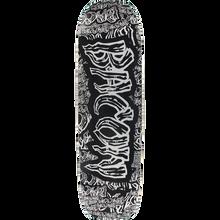 BACON - Collage Font Deck-8.6x31.75 Blk/grey - Skateboard Deck