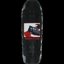 Zero - Damn It All Shaped Deck-9.5 Blk/wht - Skateboard Deck