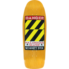 SCHMITT STIX - Stix Danger Modern Concave Deck-10x30 Org - Skateboard Deck