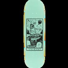 Vagrant - Deathcard Deck-8.8 Seafoam - Skateboard Deck
