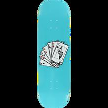 Vagrant - Deck Of Cards Deck-8.75 Teal - Skateboard Deck