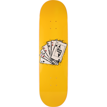 Vagrant - Deck Of Cards Deck-8.5 Yellow - Skateboard Deck