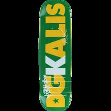DGK - Kalis Dgkalis Deck -8.1 Green - Skateboard Deck