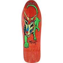 SCHMITT STIX - Stix Miller Dog Deck-10x31.87 Red - Skateboard Deck