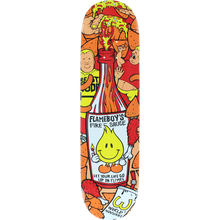 World Industries - Flameboy Fire Sauce Deck-8.1 - Skateboard Deck