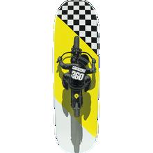 Powell Peralta - Cab Flat Track Fs Deck-8.7x31.72 Wht/yel/blk - Skateboard Deck