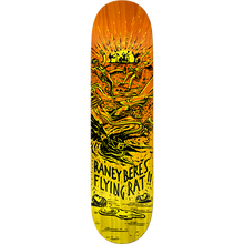 Anti Hero - Beres Flying Rat Ii Deck-8.25 Yel/org - Skateboard Deck