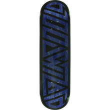 Blood Wizard - Wizard Future Wasteland Deck-8.37 Navy/blk - Skateboard Deck