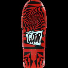 Vision - Gator Ii Deck-10.25 Red/black - Skateboard Deck
