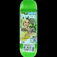 SLAVE - Schultz Glossy Times Deck-8.37 - Skateboard Deck