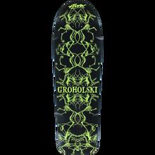 Alva - Groholski Guest Deck-12x37 Blk/yel - Skateboard Deck