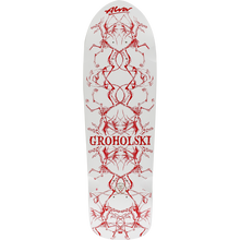Alva - Groholski Guest Deck-12x37 Wht/red - Skateboard Deck