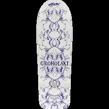 Alva - Groholski Guest Deck-12x37 Wht/navy - Skateboard Deck