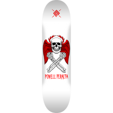 Powell Peralta - Halo Bolt Deck-8.5 White - Skateboard Deck