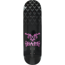 Element - Bam Heartagram Deck-8.5 Black/pink - Skateboard Deck