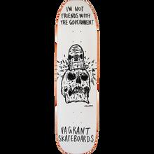 Vagrant - Hirotton Skull Not Friends 2 Dk-8.38x32 Wt - Skateboard Deck