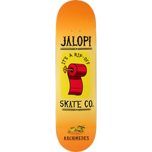 Anti Hero - Archimedes Jalopi Deck-8.4 - Skateboard Deck