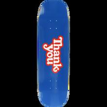 Thank you - You Logo Deck-7.75 Blue - Skateboard Deck