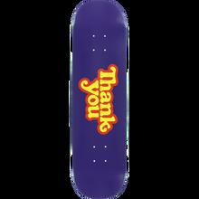 Thank you - You Logo Deck-8.0 Purple - Skateboard Deck