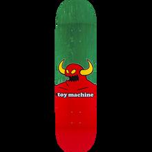 Toy Machine - Monster Deck-8.0 Green Stain - Skateboard Deck
