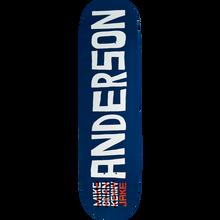 SKATE MENTAL - Mental Anderson Name Deck-8.5 - Skateboard Deck