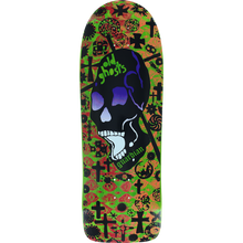 Vision - Old Ghost Mc Deck10x30.25 Lime/red/org - Skateboard Deck