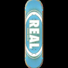 Real - Oval Burst Fade Renewal Deck-8.5 Blue - Skateboard Deck