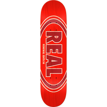 Real - Oval Duofade Renewal Deck-8.06 Red Ppp - Skateboard Deck