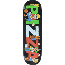 Pizza - Party Deck-8.5 Black - Skateboard Deck