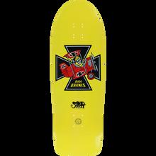 Black Label - Barnes Red Baron Deck-10.25x31.5 Yel Dip - Skateboard Deck