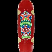 Dogtown - Muir Triplane Pool Deck-8.87x32.5 Red - Skateboard Deck