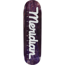 Mercury - Script Logo Deck-8.25 Purple - Skateboard Deck