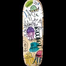 KROOKED - Drehobl Smokey Deck-9.25x31.85 - Skateboard Deck