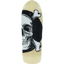 American - Nomad Spoon Point Dk-10x31.75 Nat/wht/blk - Skateboard Deck