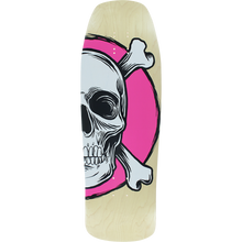 American - Nomad Spoon Square Dk-10x31.75 Nat/wt/pnk - Skateboard Deck