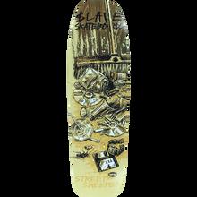 SLAVE - Street Sweeper Deck-9x32 Tan/asst - Skateboard Deck