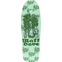 Moonshine - Dove Toile Vert Deck-9.5x31.75 - Skateboard Deck