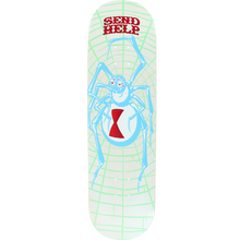 Send Help - Help White Widow Deck-8.5 - Skateboard Deck