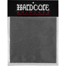 Powell Peralta - Hardcore Coarse Griptape Squares Blk 32grit - Skateboard Grip Tape