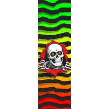 Powell Peralta - Grip Sheet 9x33 Ripper Fade Rasta - Skateboard Grip Tape