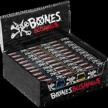 Bones Wheels - Hardcore Bushings 30pk/case Black/assorted  - Skateboard Bushings