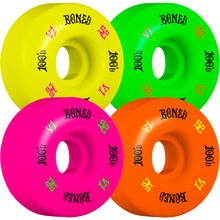 Bones Wheels - 100's Og #4 V1 52mm Party Pack Multi - Skateboard Wheels (Set of Four)