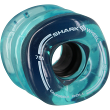 Shark Wheels - California Roll 60mm 78a Trans.blue - Skateboard Wheels (Set of Four)