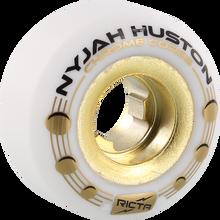 Ricta - Nyjah Chrome Core Holes 52mm Wht/gold - Skateboard Wheels (Set of Four)